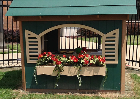 Flower Box (For 5' x 5' or 6' x 6' Playhouse)