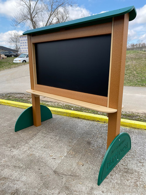 4' Magnetic Chalk Board