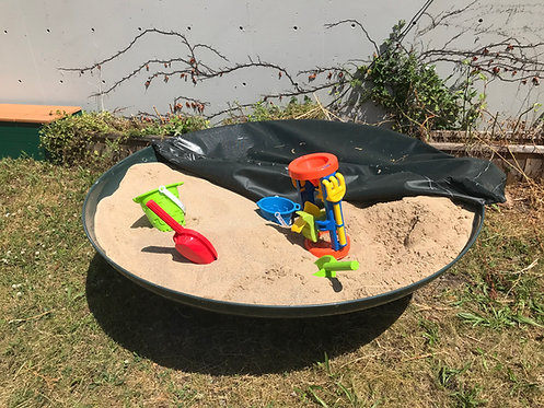 ADA Elevated Round Sand Table