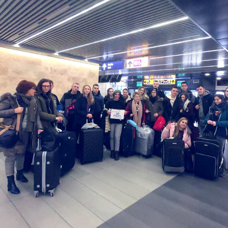 Short-Term Mobility Project for a Group of 20 Polish Students in Avezzano