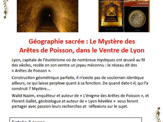La Caverne aux Grimoires vous présente Le Mystère des Arêtes de Poisson