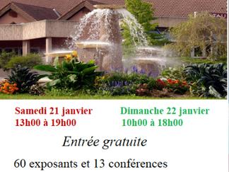 Salon Nature et Mieux-Etre 2017 Centre International de Rencontres de Saint - Vulbas