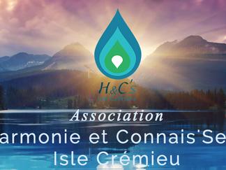 L'Association Harmonie et Connais'Sens Isle Crémieu.
