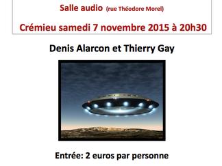 Conférence Ufologie ( La vague de soucoupes volantes de 1954 en France )