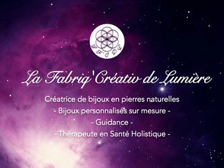 La Caverne aux Grimoires & La Fabriq'Créativ de Lumière en partenariat