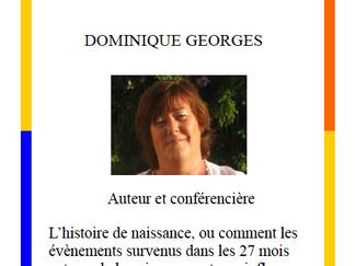 Conference organisé par l´association Harmonie et Connais´Sens Isle Crémieu.