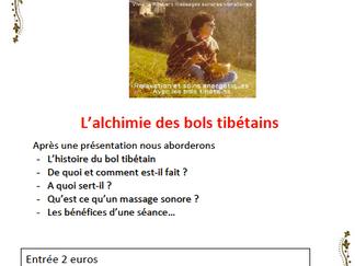 Conference bols tibétain