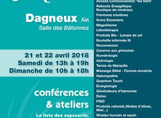 Salon du Bien-être á Dagneux (01)