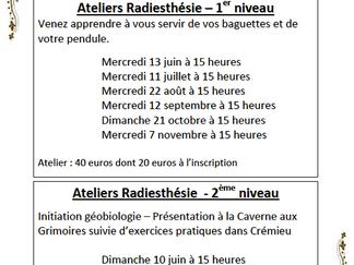 Atelier Radiesthésie