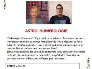 Conférence Astro-Numérologie