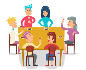 Fascinating Dinner Party Topic: Feedback in the Workplace!