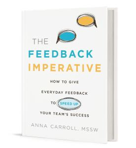 The Feedback Imperative book