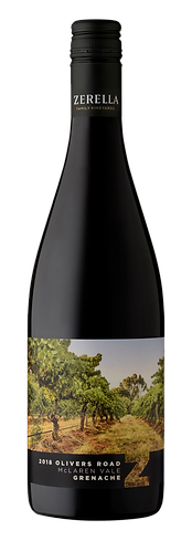 2018 Olivers Road Single Vineyard Grenache