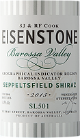 Eisenstone wines Seppeltsfield 15 Label.