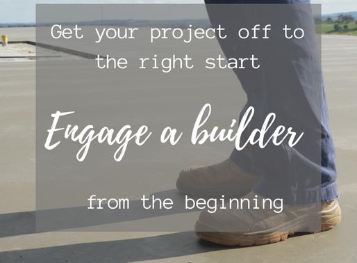 What comes first? Steps to get your build off to the right start.