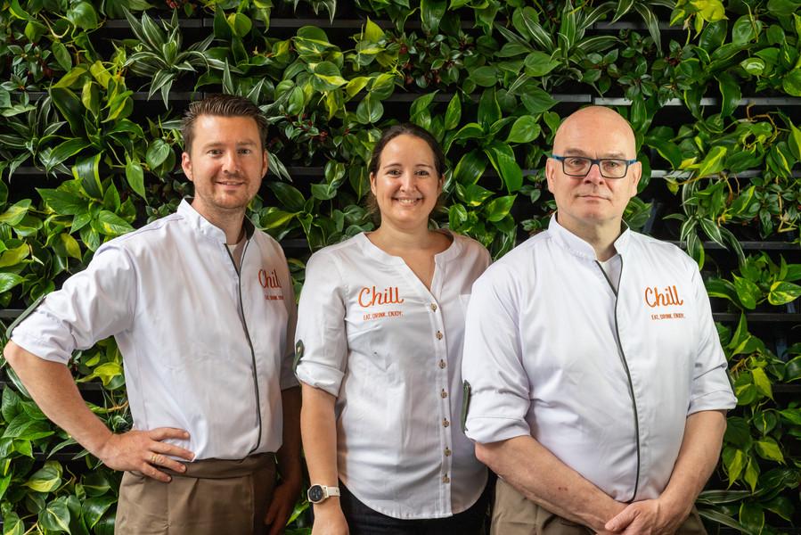 VLNR - John (Kok), Jessica (Eigenaar), Erik (Chef-Kok)