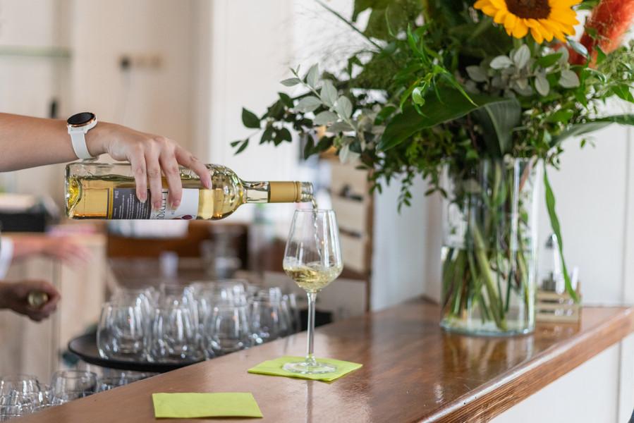 wijntje aan de bar
