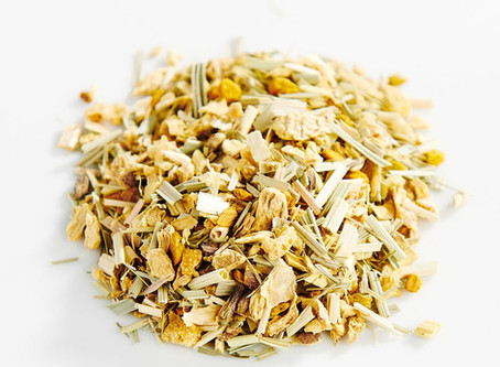 Herbal Quadfecta?! Lavender, lemongrass, Turmeric, Ginger