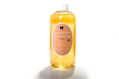 Deli's Castile Liquid Soap 16oz