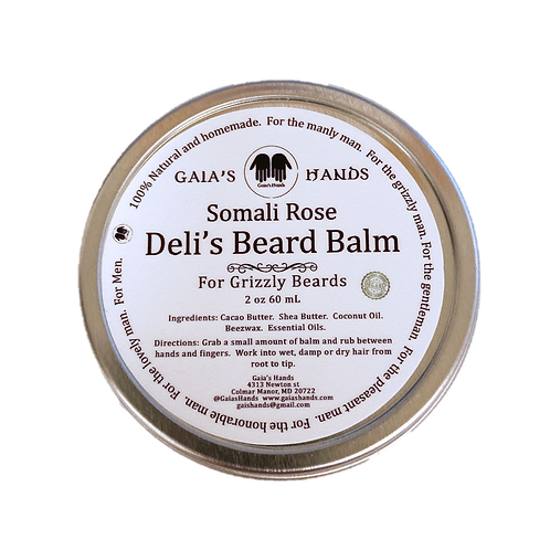 Deli's Beard Balm - Somali Rose 2oz