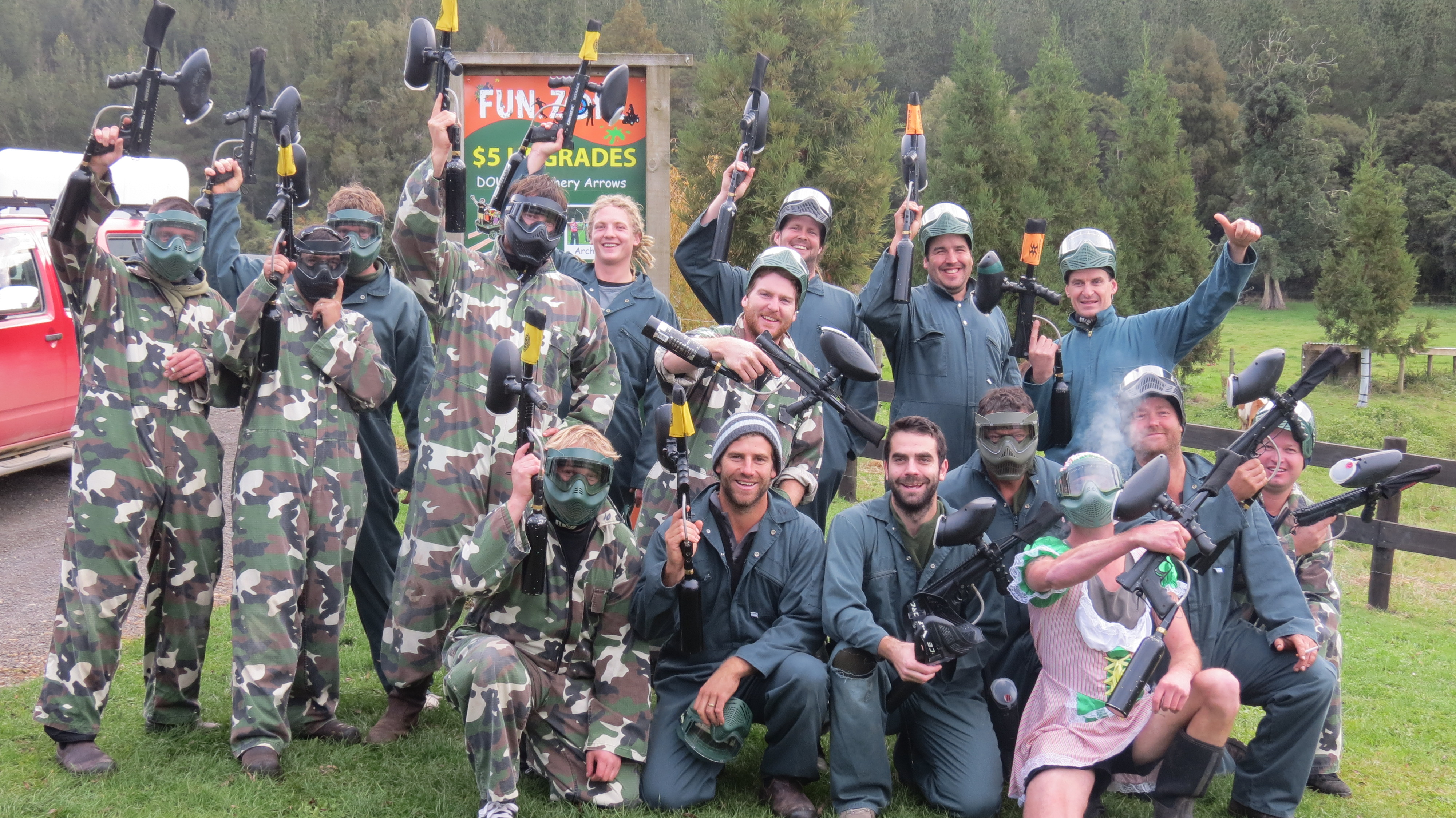 combat zone paintball whitianga