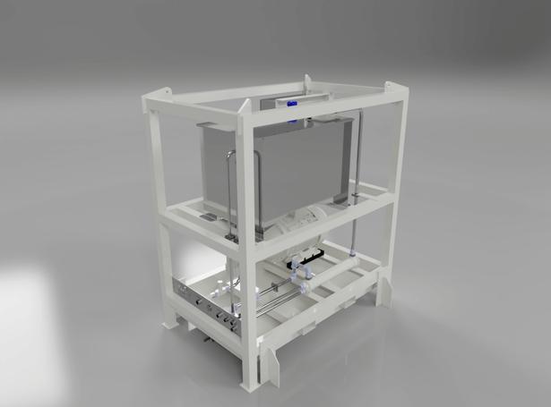 HPU Marine Power Pack Render