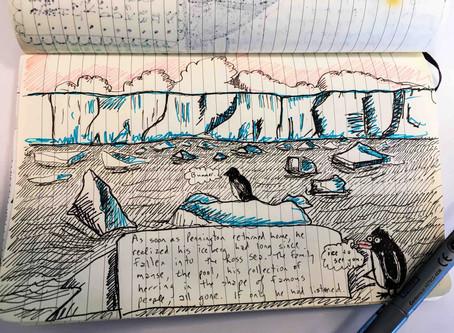 Pennington Penguin Returns Home