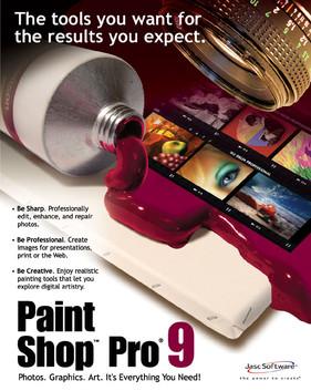 Paint Shop Pro 9 software