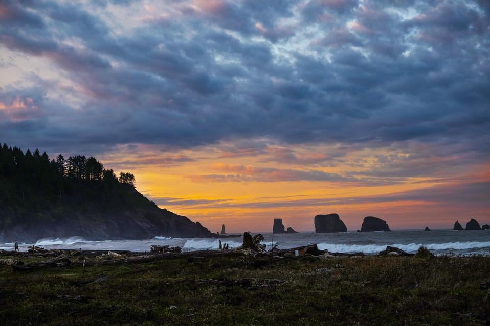 La Push sunrise, Washington