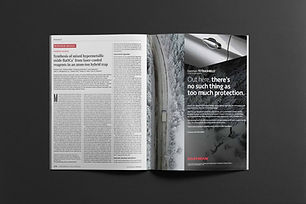 Tetrashield magazine ad-car dark gray-lo