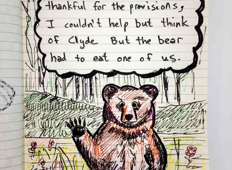 As the Bear Waved Good-bye