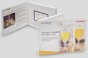 Eastman mailer with video