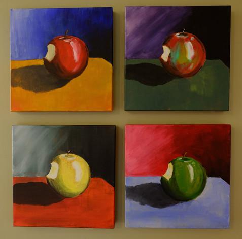 Four Bitten Fruit