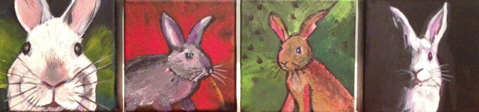 Four Bunnies of the Apocalypse