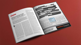 Raytheon magazine ad-rebranding