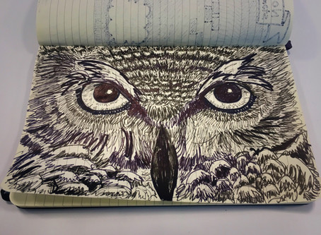 Just a Doodle of an Owl
