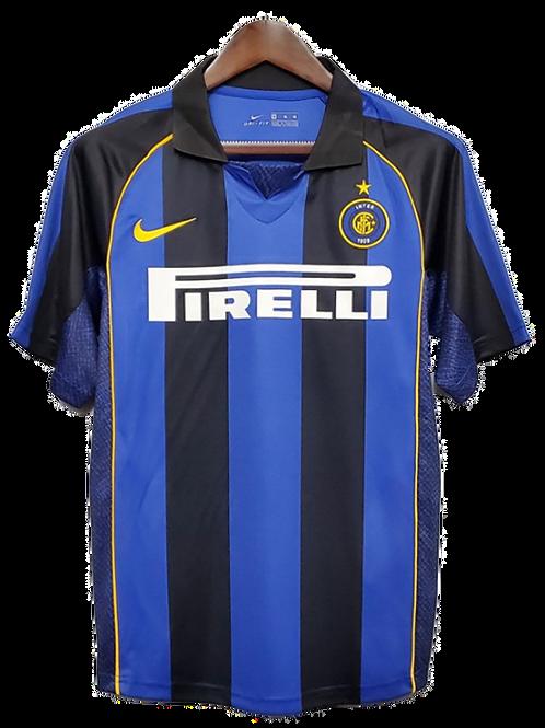 Inter Milan 2001-02 Home Shirt