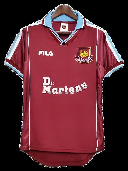 West Ham 1999-01 Home Shirt