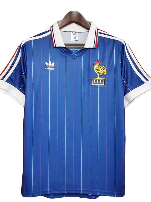 France 1982 Home Shirt