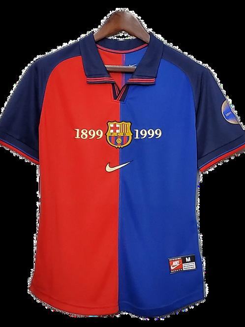 FC Barcelona 1998-99 Home Shirt