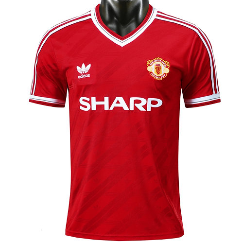Manchester United 86-88 Home Shirt