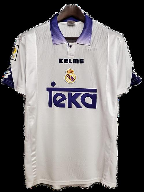 Real Madrid 1997-98 Home Shirt