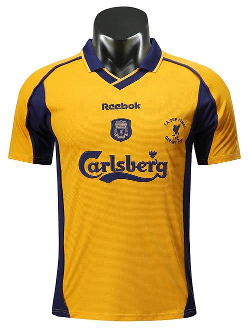 Liverpool 00-01 Away Shirt