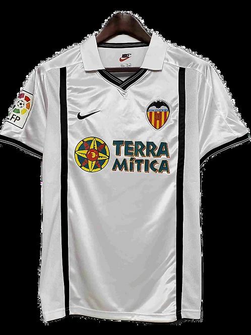 Valencia 2001-02 Home Shirt