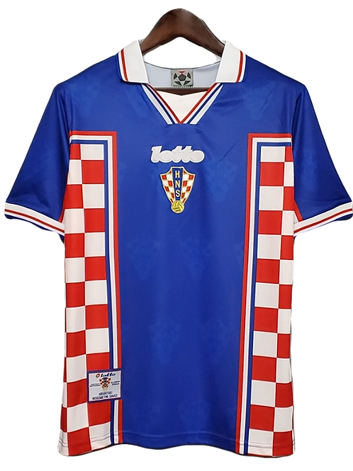 Croatia 1998 Home Shirt