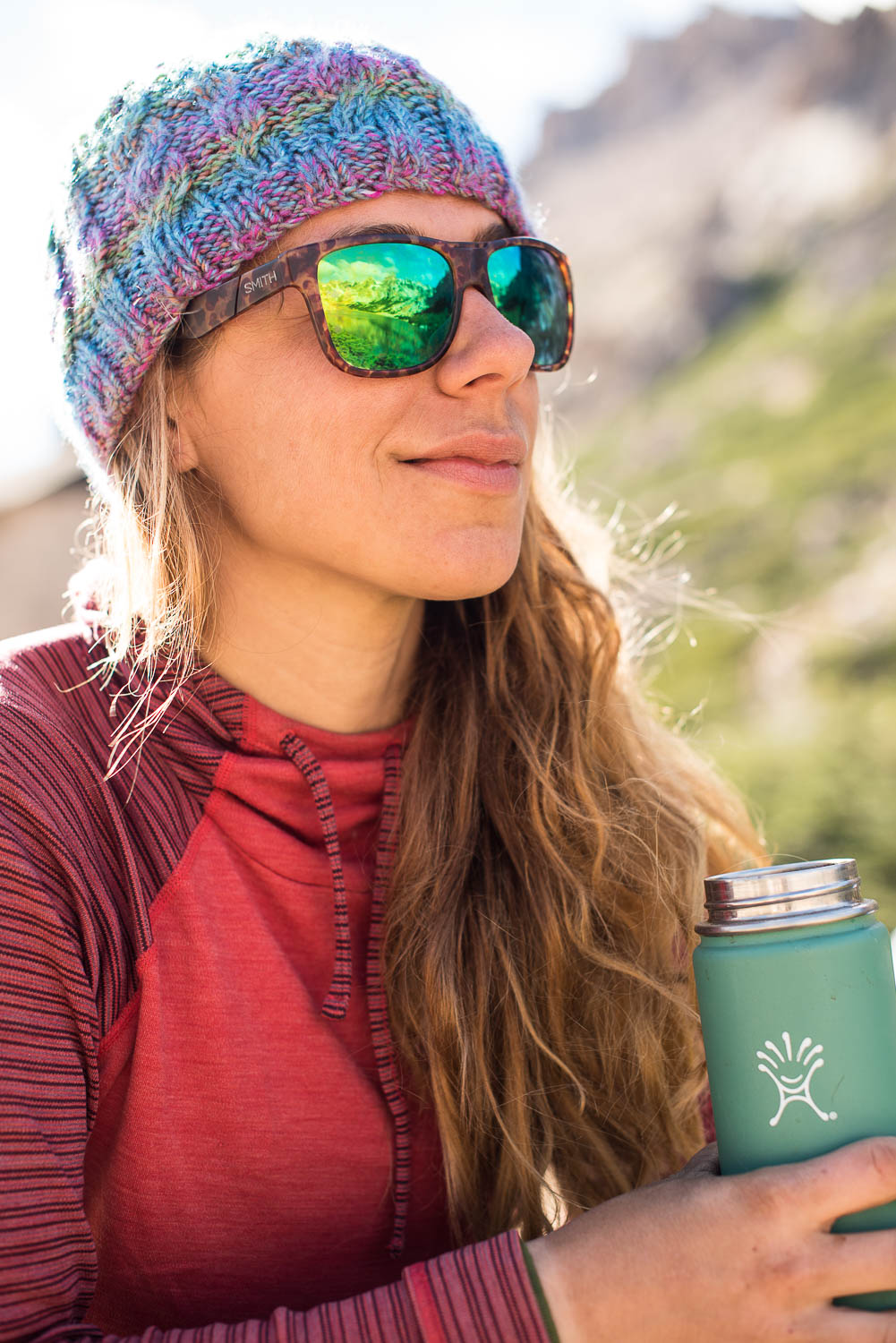 Hydro Flask in the Mountains