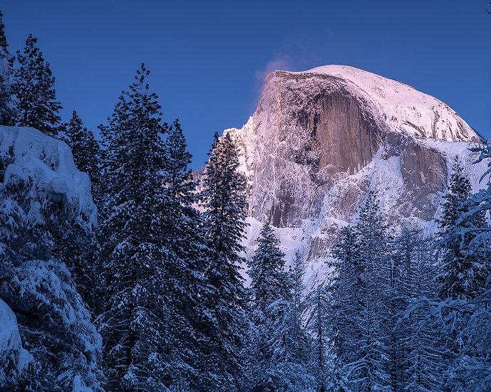 A Wintery Half Dome