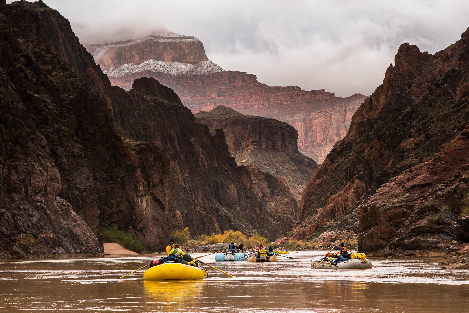 Boats on the Colorado River