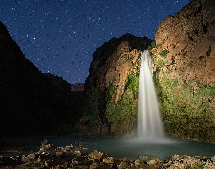 Havasu Falls at Night