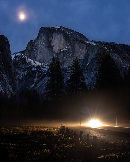 Yosemite Valley Evening